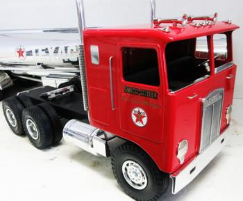 Smith Miller Texaco Polished Aluminum Tanker / COE Tractor