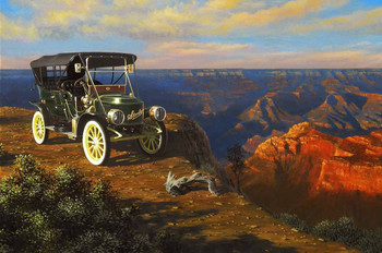 1908 Stanley at the Grand Canyon by Stan Stokes