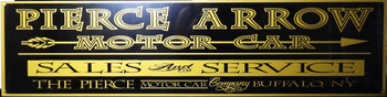 "Pierce Arrow Motor Car Advertisement 46"" by 12"""