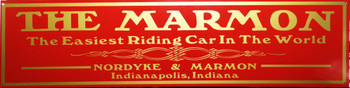 """Marmon Motor Car Advertisement 46"""" by 12"""""""