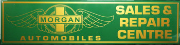 "Morgan Motor Car  Advertisement 46"" by 12"""