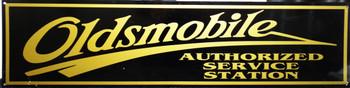 "Olsmobile Motor Car Advertisement 46"" by 12"""