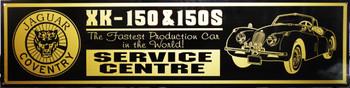 "Jaquar Service Center Advertisement 46"" by 12"""
