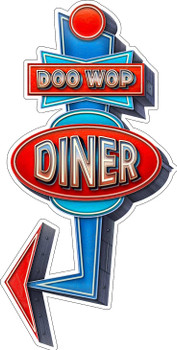 Doo Wop Diner by Michael Fishel