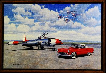 Thunderbirds Framed Lithograph by Stan Stokes