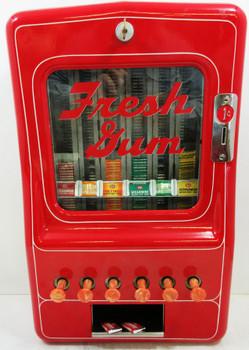Stoner Penny Gum Tab Gum Vender Circa 1940's Fully Restored
