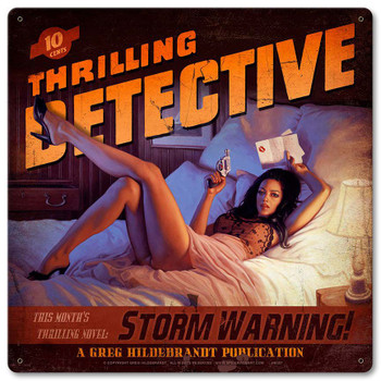 Thrilling Detective Storm Warning
