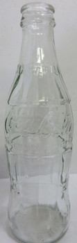 "Coca-Cola 10 oz Bottle with Factory Flaw ""Bird Swing"" Circa 1980"