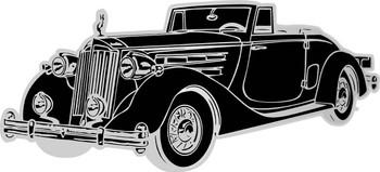 Rolls Royce Classic Car Plasma Cut Metal Sign