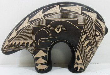 Native American Hand Crafted Black Bear E.King Dineh