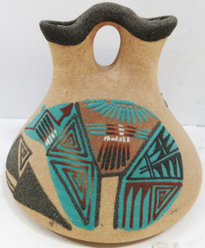 Native American Hand Crafted Wedding Vase Whlock Dare