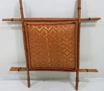 Native American Hand Crafted Rattan Weaving