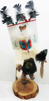 Native American Large Hand Crafted Doll by F. Clarley titled Butterfly""