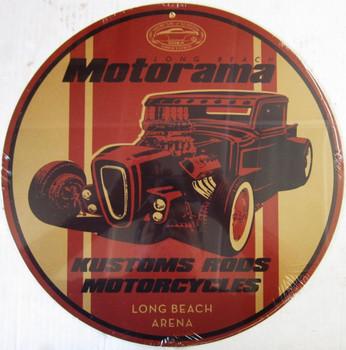 """Motorama Long Beach 14"""" round"""