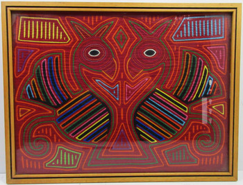 Native American Hand Crafted Fabric Art