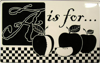 A is for... Apple