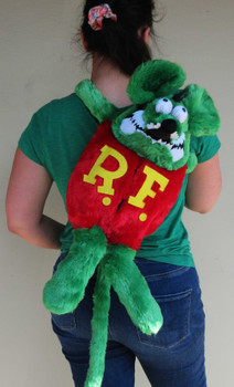 Rat Fink Back Pack / Plush Doll Tissue Case