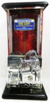 Masters Penny Operated Bulk Dispenser Machine circa 1930's