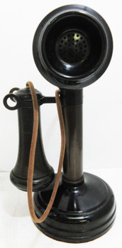 Kellogg Candlestick Table Telephone Circa 1900's Display Only