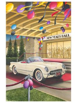 1953 Corvette New Year's Ball by Dan Hatala