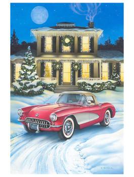 All I Want for Christmas 1956 Corvette by Dan Hatala