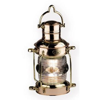 Anchor Lamp. Brass & Copper