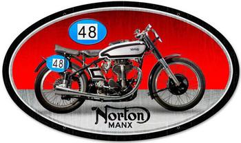 Norton Manx Oval