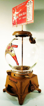 AD-LEE E-Z Gumball Dispenser with Marquee circa 1908