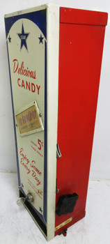 Star Wall Mounted / Table 5c Candy Bar Dispenser