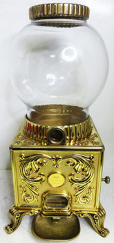 FRANKLIN MINT NORMAN ROCKWELL LIMITED ED. CLASSIC AMERICAN GUMBALL MACHINE
