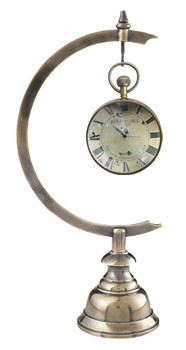 Eye of Time Library Clock with Stand