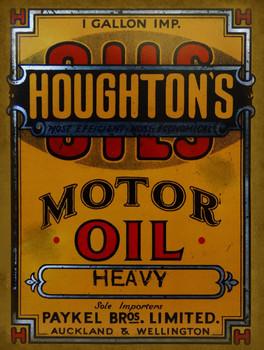 Houghton's Motor Oil