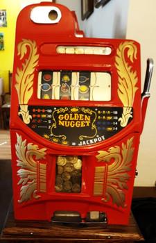 Mills Gold One Dollar Golden Nugget Slot ( custom)