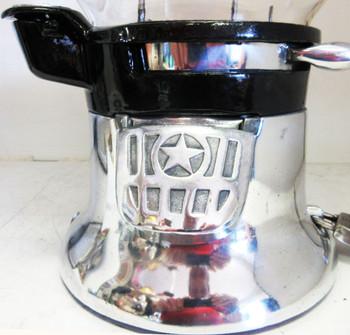 "Columbus Model ""46M"" Peanut Dispenser Penny Circa 1930's Polished Aluminum 2"