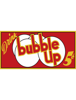 Bubble Up Drink Bubble Up Soda 5 Cents Metal Sign
