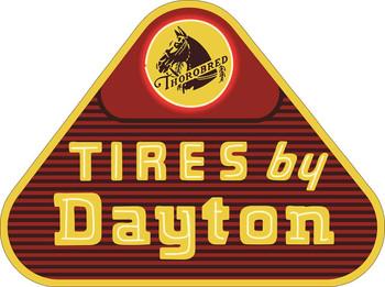 Thorobred Tires by Dayton Metal Sign