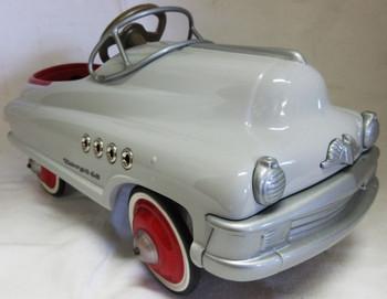 "Ken Kovack Prototype Pedal Car Gray ""Torpedo"" #3 of 33"
