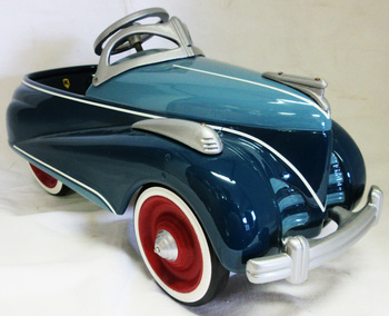 Ken Kovack Prototype Pedal Car Blue #8/33