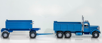 Smith-Miller Mack Transfer Dump Truck #18/100 Blue Tractor