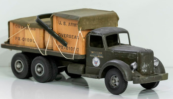 Smith-Miller US Army Mack Truck with Crates Circa 1950's