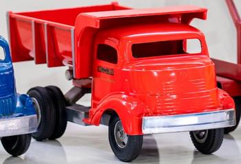 Smith Miller Red Dump Truck circa 1940's