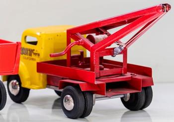 Smith-Miller Yellow/Red Wrecker Circa 1940's