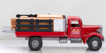 Smith-Miller MIC Flatbed Truck with Tailgate Circa 1950's