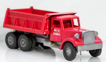 Smith-Miller Red MIC Dump Truck circa 1950's