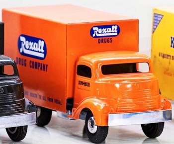 Smith-Miller GMC Rexall Drug Truck Circa 1950's