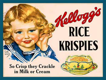 Kellogg's Rice Krispies Metal Sign