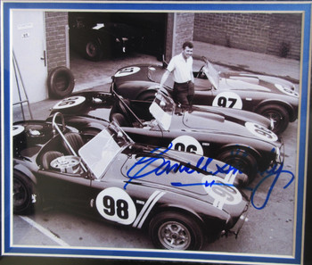 Carroll Shelby Cobra Garage Autograph Certified