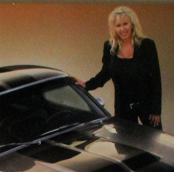 Gone in 60 Seconds Eleanor 2000 Laminated Photograph Autographed Denice Halicki