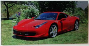 "Ferrari Direct Print Metal Acrylic 36"" by 24"" Custom (video)"