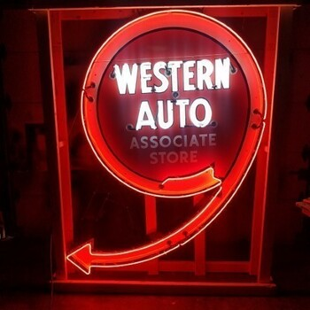 Western Auto Neon